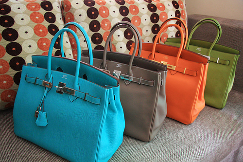 bag, bags, birkin, blue, collection, colors, fashion, galore, hermes, luxury, purses