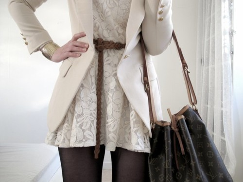 bag, belt, blazer, fashion, girl