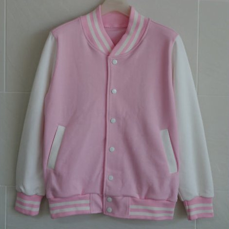 baseball, baseball jacket, cute, jacket, love, pink, pink colouring
