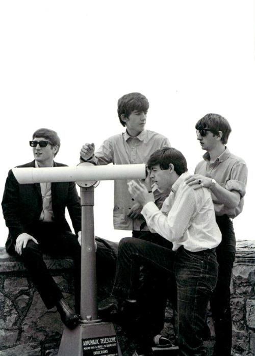 beatles, black and white, retro, the beatles, vintage