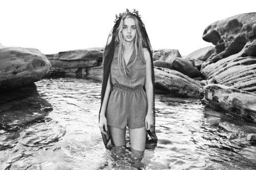 beautiful, black and white, blond, brunette, clothes, crown, cute, epx1, eyes, fashion, girl, gorgeous, hair, jewelry, lake, model, nature, ocean, outdoors, photography, photoshoot, pretty, queen, rocks, sea, sexy, style, water, woman