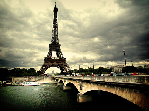 beautiful, bridge, city, eifel, eiffel