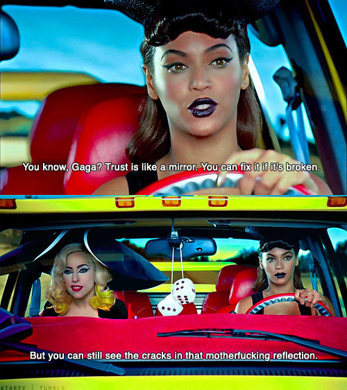 beyonce, car, dice, fashion, gaga