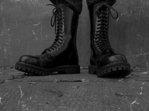 black, boots, combat boots, cool, dark