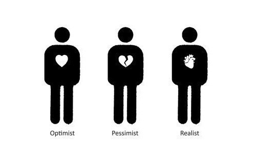 black, heart, hearts, optimist, pessimist