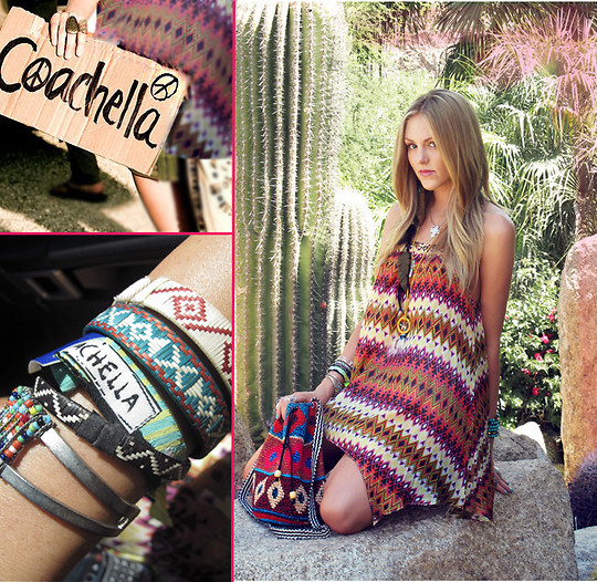 blond, boho, coachella, fashion, girl - inspiring picture on Favim.com