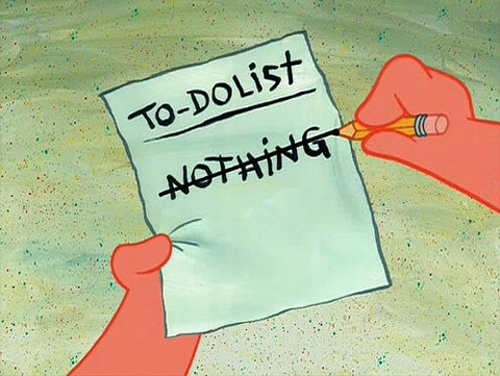 bob esponja, funny, haha, lol, nothing, patrick, sponge bob, spongebob, to do list