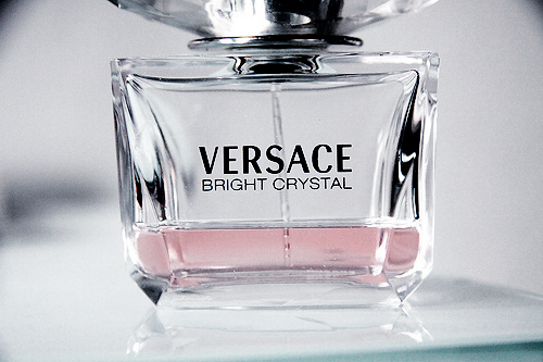 bottle, desginer, fashion, perfume, pink, spray, versace