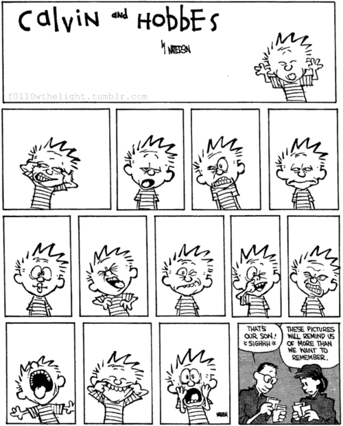 calvin, calvin & hobbes, calvin and hobbes, cute, growing up, hobbes, kid, love, parents