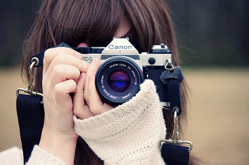 camera, girl, separate with comma