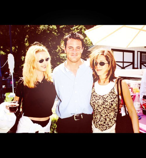 cast, chandler, courtney cox, friends, jennifer