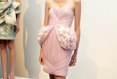 catwalk, dress, fashion, glamour, pink