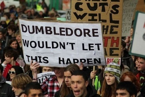 clever, crowd, dumbledore, engracado, funny
