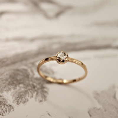 diamond, gold, jewellary, ring, vintage