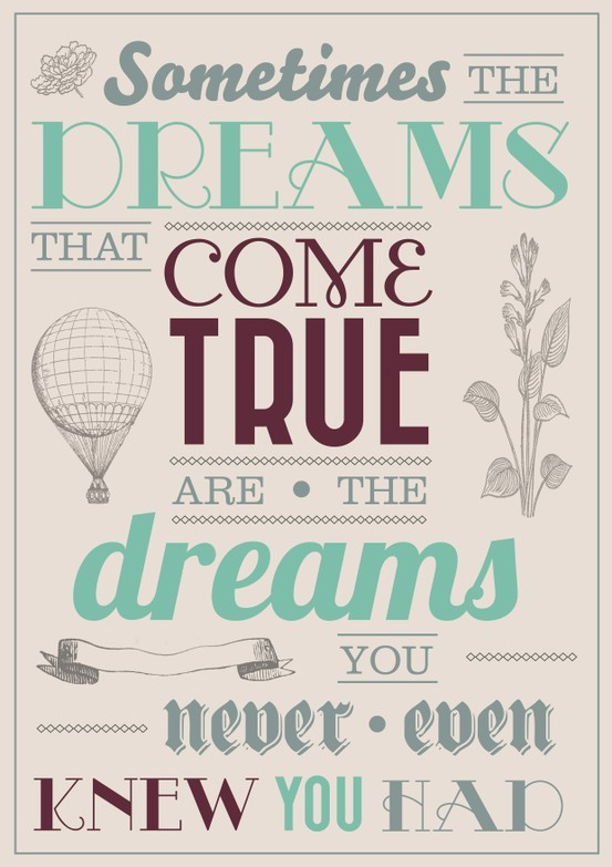 dreams, text, turquoise, typography