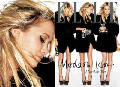 elle, fashion, glamour, magazine, mary-kate olsen