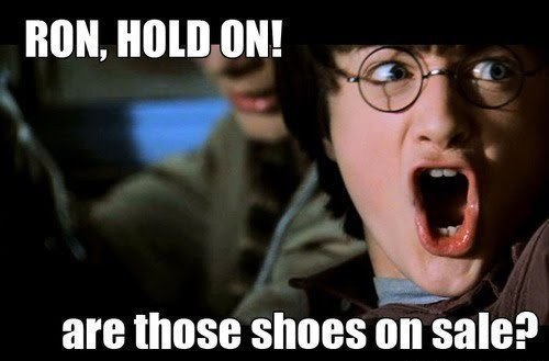 epic, funny, harry potter, i love this pic!!!, lol, omg epic, ron, ron weasley, sale, shoes, text