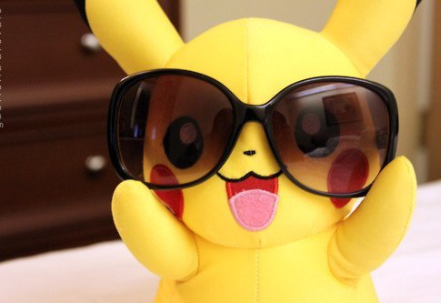 glasses, ja tebja ljublju, pickachu, pikachu, pokemon