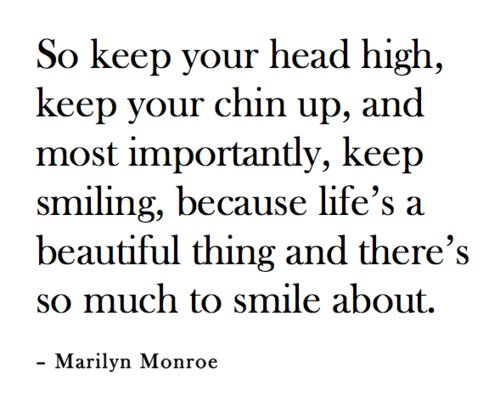 life, marilyn monroe, quote, text