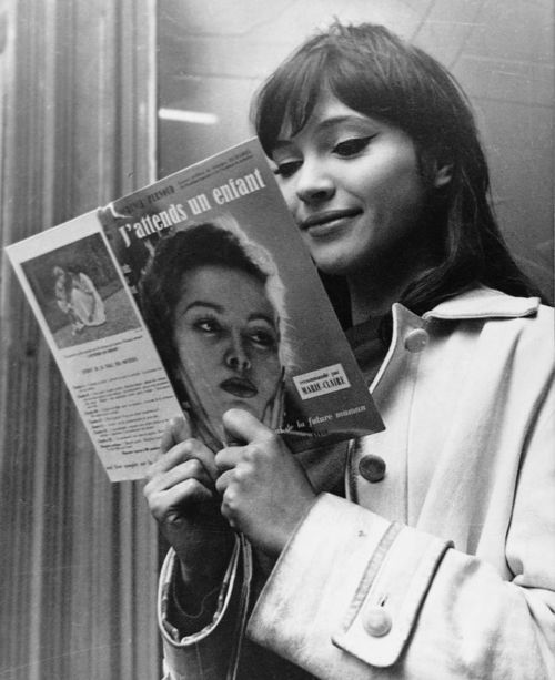 1251, anna karina, beautiful, black and white, french