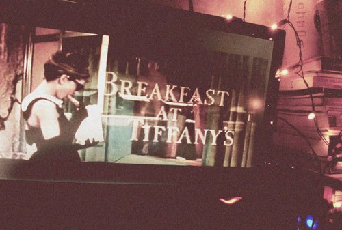 audrey hepburn, breakfast at tiffanys, lights, photography