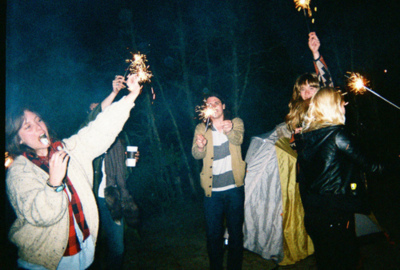 awesome, beautiful, fire, forest, party