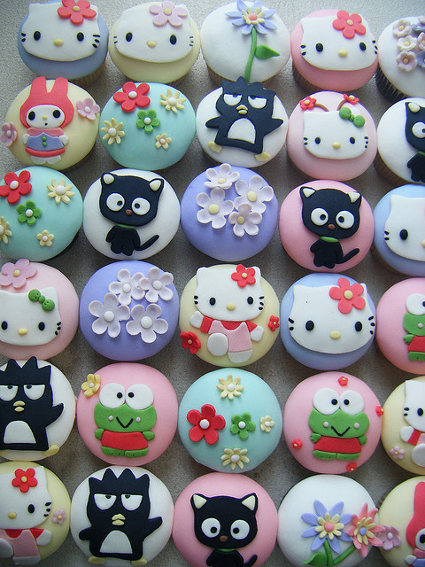 badtz maru, chococat, hello kitty, my melody, sanrio