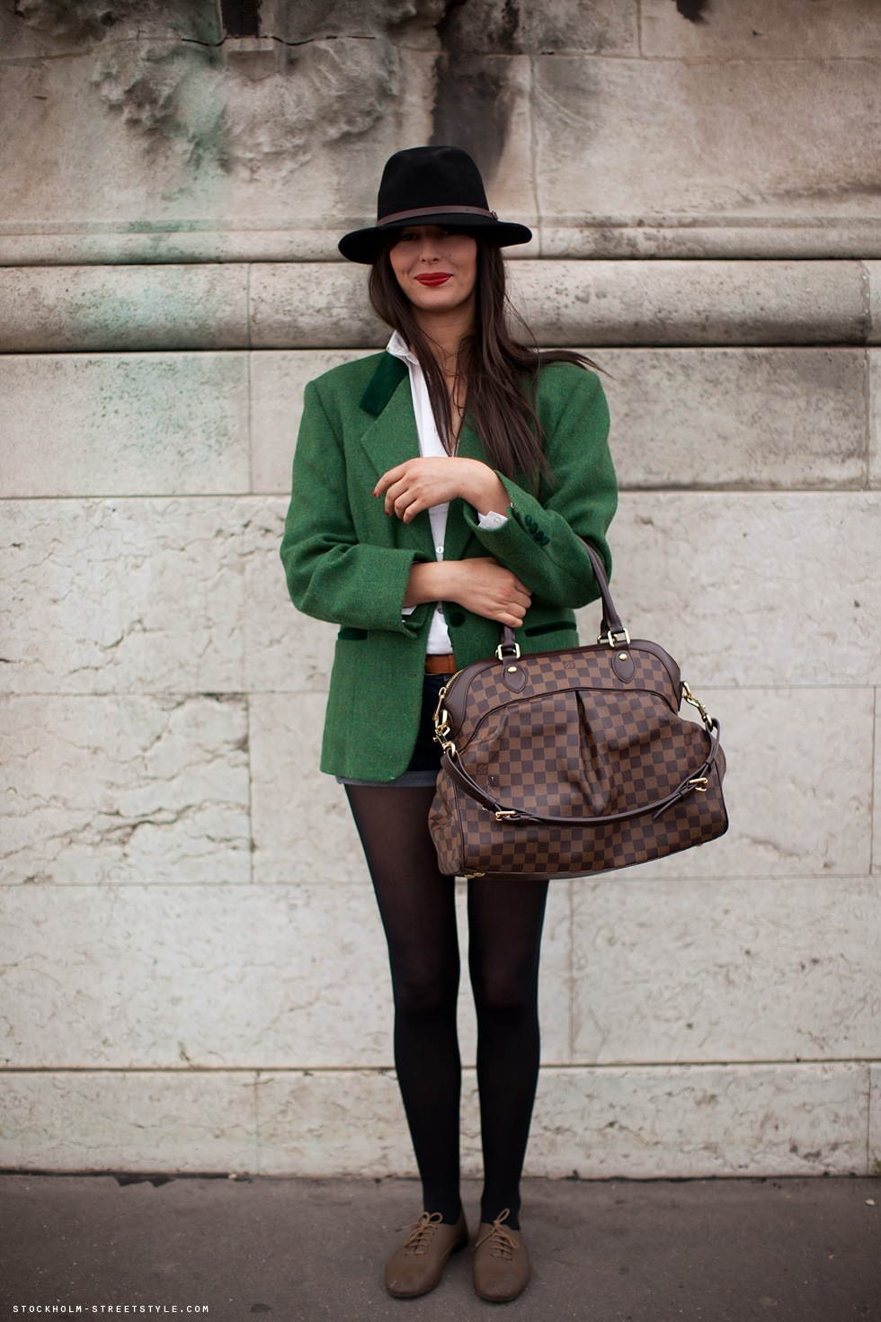 bag, blazer, brunette, fashion, girl