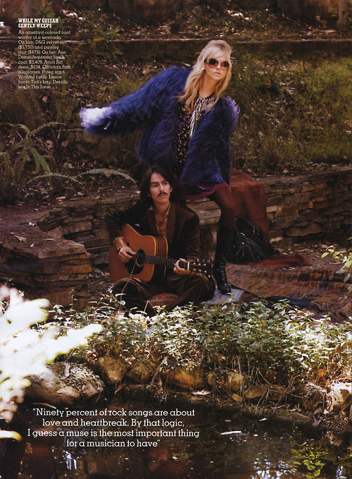 beatles, dhani harrison, editorial, fashion, george harrison