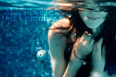 beautiful, girl, pool, promise, swear
