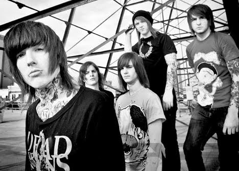 black and white, bmth, bring me the horizon