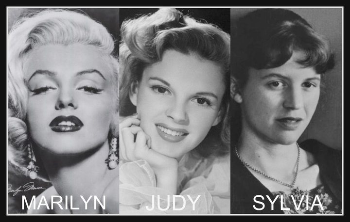 black and white, collage, dance in the dark, judy garland, lady gaga
