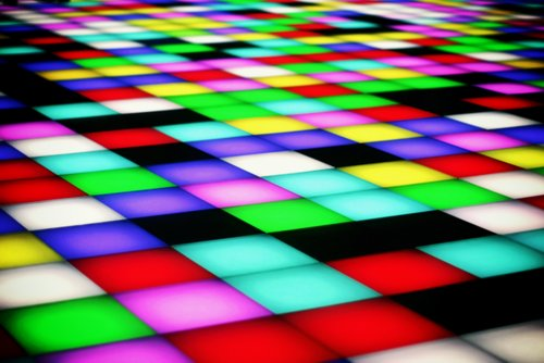 black, colorful, colours, green, lilac, pink, red, squares, tourquoise, white, yellow