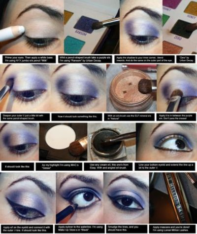 blue, cute, makeup, makeup tutorial, new years eve