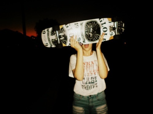 board, chi, girl, globe, night