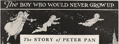 boy, fairytale, fly, grow up, love, never, neverland, peter pan, story