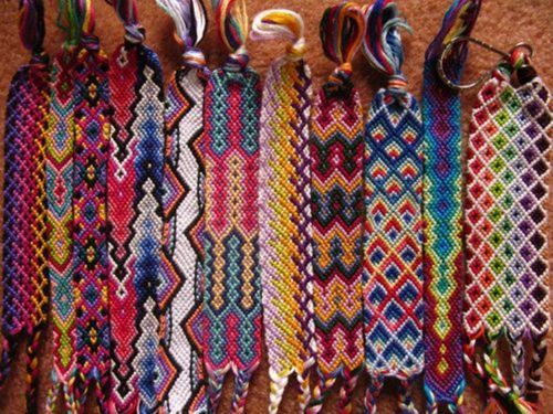 bracelets, color, friendship