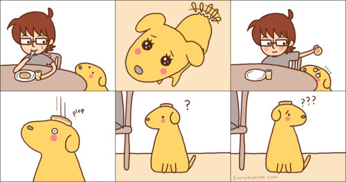 cartoon, cute, dog, haha, lol