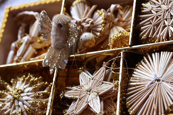 christmas, decor, decoration, gold