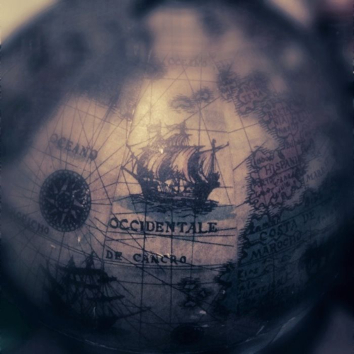 color, map, nautical, old, photo