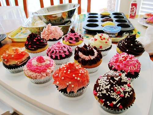 colorful, cupcakes, cute, delicious, pink - image #150174 on Favim.com