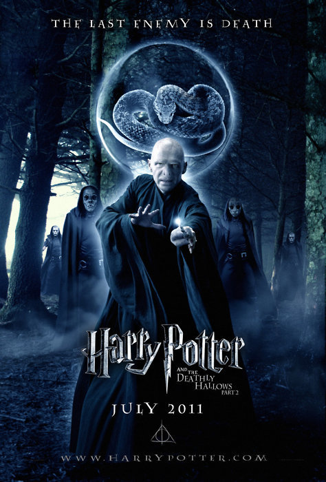 deathly hallows, harry potter, voldemort