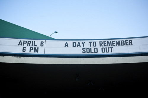 a day to remember, adtr, band, photography, show