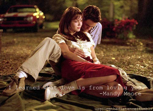 a walk to remember, mandy moore, shane west, typography