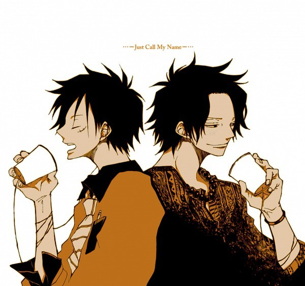 ace, anime, luffy, one piece