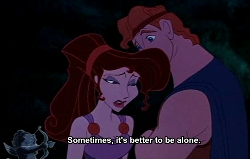 alone, disney, hercules, meg