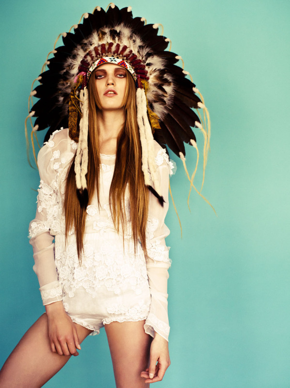 american, appropriation, dress, fashion, headdress