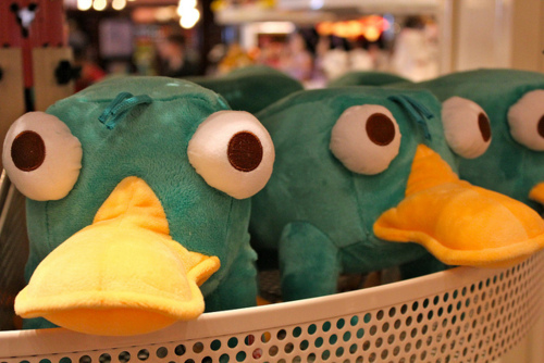 animal, cute, perry, perry the platypus, phineas and ferb, photo, photography, plush, plush animal, plushie, separate with comma, want