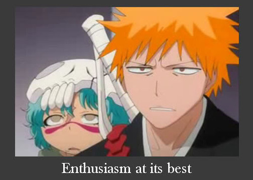 anime, bleach, enthusiasm, lol