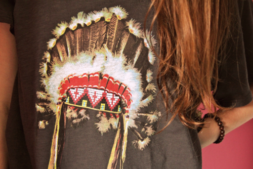 appropriation, headdress, indian, native american, photography, shirt